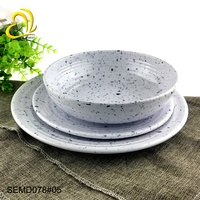 Plate series plastic plates dinnerware sets luxury