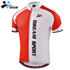 China professional custom design your own team club cycling jersey short sleeve