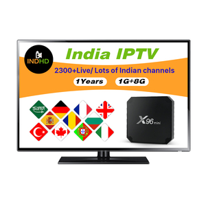 Somali Channels Arabic IPTV Global Box X96 MINI with IP TV Subscription  INDHD1 Year