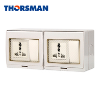 Factory Hot Sales Waterproof Electrical Wall Switch Socket For Home