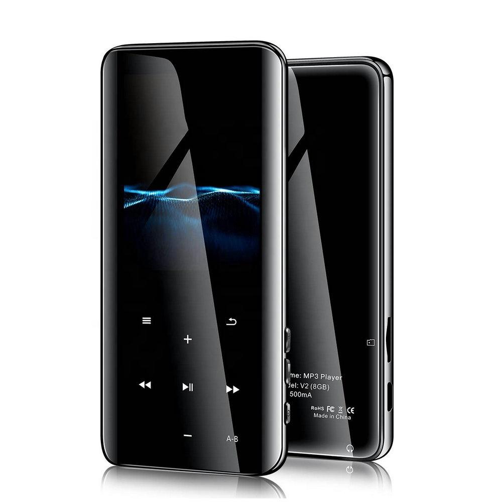 X2 संगीत MP3 प्लेयर एफएम के साथ 2.4 इंच एलसीडी स्क्रीन दोषरहित HiFi ध्वनि रिकॉर्डर ई-बुक ब्लू टूथ टच स्क्रीन