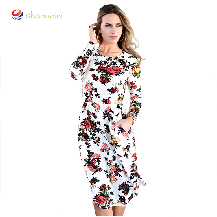 82d7fc2219 fiori bianchi abito nero all'ingrosso-Acquista online i migliori ...