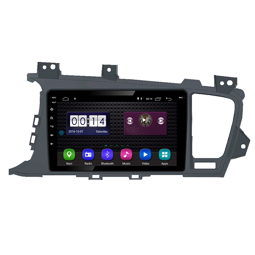 9 inch touch screen auto gps navigatie android 8.1 autoradio voor kia k5 optima