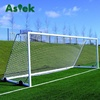 Aluminium Futbol Anti-tip Safety Football Goal With Wheels