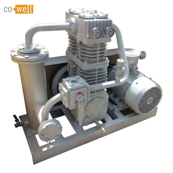 Cowell LPG gas compressor for unloading, bottle filling, bottle emptying, conveying