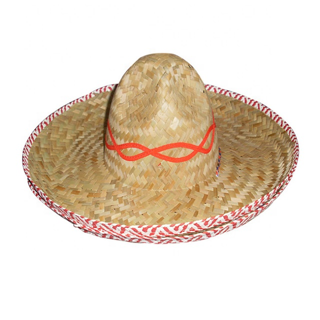 PINK STRAW SOMBRERO HAT MOUSTACHE MEXICAN  HOLIDAY HEN STAG BANDIT FANCY DRESS