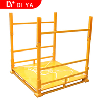 Steel Stacking Rack Rack System Metal Warehouse Foldable Blue Logistics Pallet Racking Stackable Stacking Storage