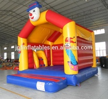 Chine jeux <span class=keywords><strong>enfants</strong></span> clown <span class=keywords><strong>gonflable</strong></span> combo toboggan/château <span class=keywords><strong>gonflable</strong></span> de clown avec toboggan