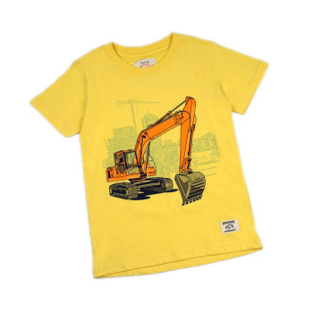 2019 Summer New Design Baby boy T-shirt Cartoon Girls Pattern Short-sleeve T-shirt