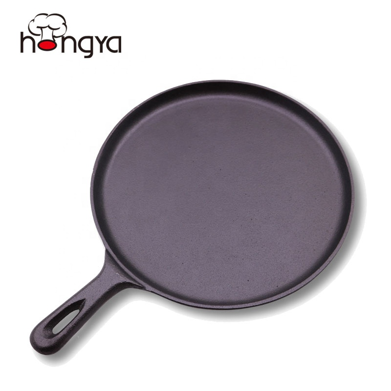 Pramusim Non-Stick Cast Iron India Dosa Tawa Roti Pan