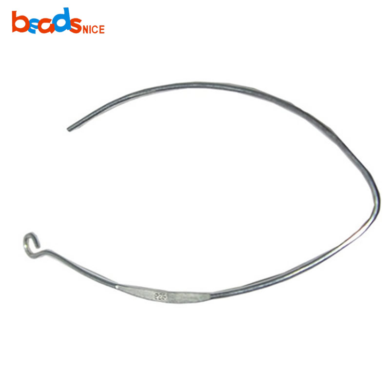 Beadsnice Silver Classic European Sterling Silver French Wire Earring Hooks 925 mode 52mm hole 2 mm