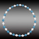 80CM New Beaded Fitness Ring,Massage Hula Hoop