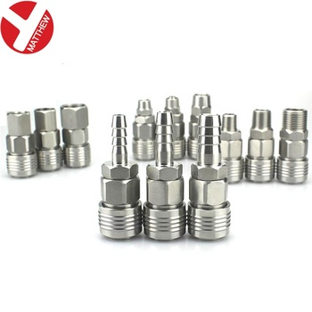 Pagoda Joint Stainless Steel Quick Connectors for high pressure Air hose