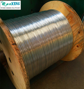 Galvanized spool wire, 0.8mm spool wire