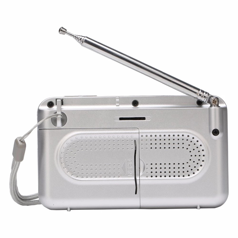 Personalizável banda completa portátil mini retro radio cassete player portatil