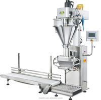 semi auto powder pasta filling machine with mixing