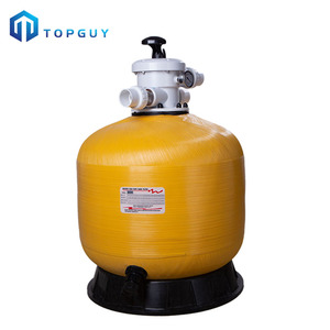 China fabrik fiberglas verstärkt kunststoff top-mount sand filter