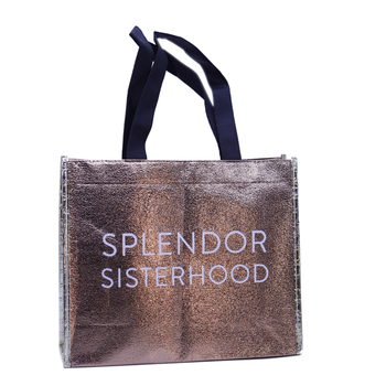 Fashion Bopp Laminated Eco Fabric Tote Non-Woven Custom Cheap PP Pla Non Woven Bag in Guangzhou