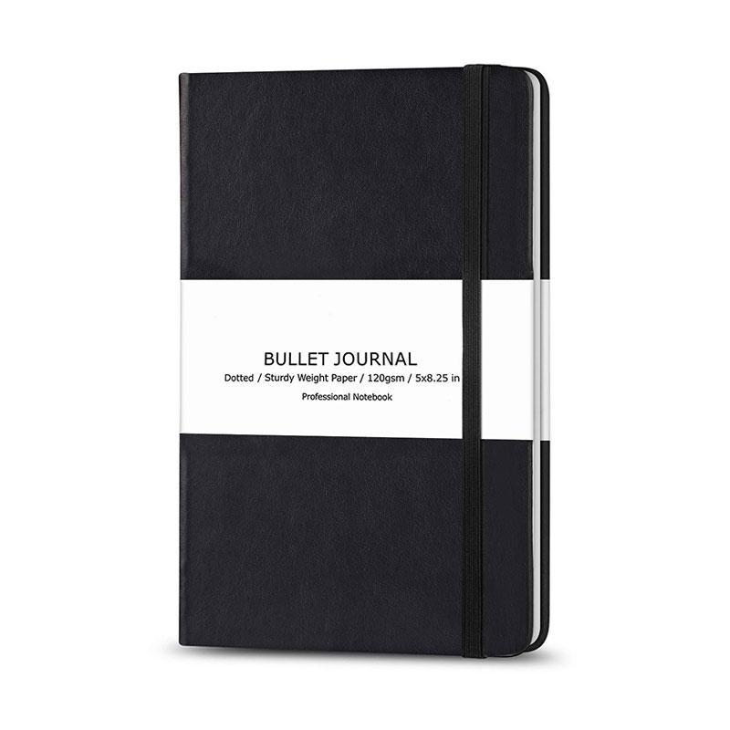 2020 заказной Печатный ПУ кожаный сетчатый точечный Bullet Journal