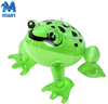 Hot sale kids playing pvc inflatable frog toy inflatable jumping animal toy