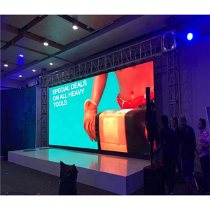 P6mm Indoor led advertising and wall mounted display screen high quality indoor rental fixed install led video wall panel series