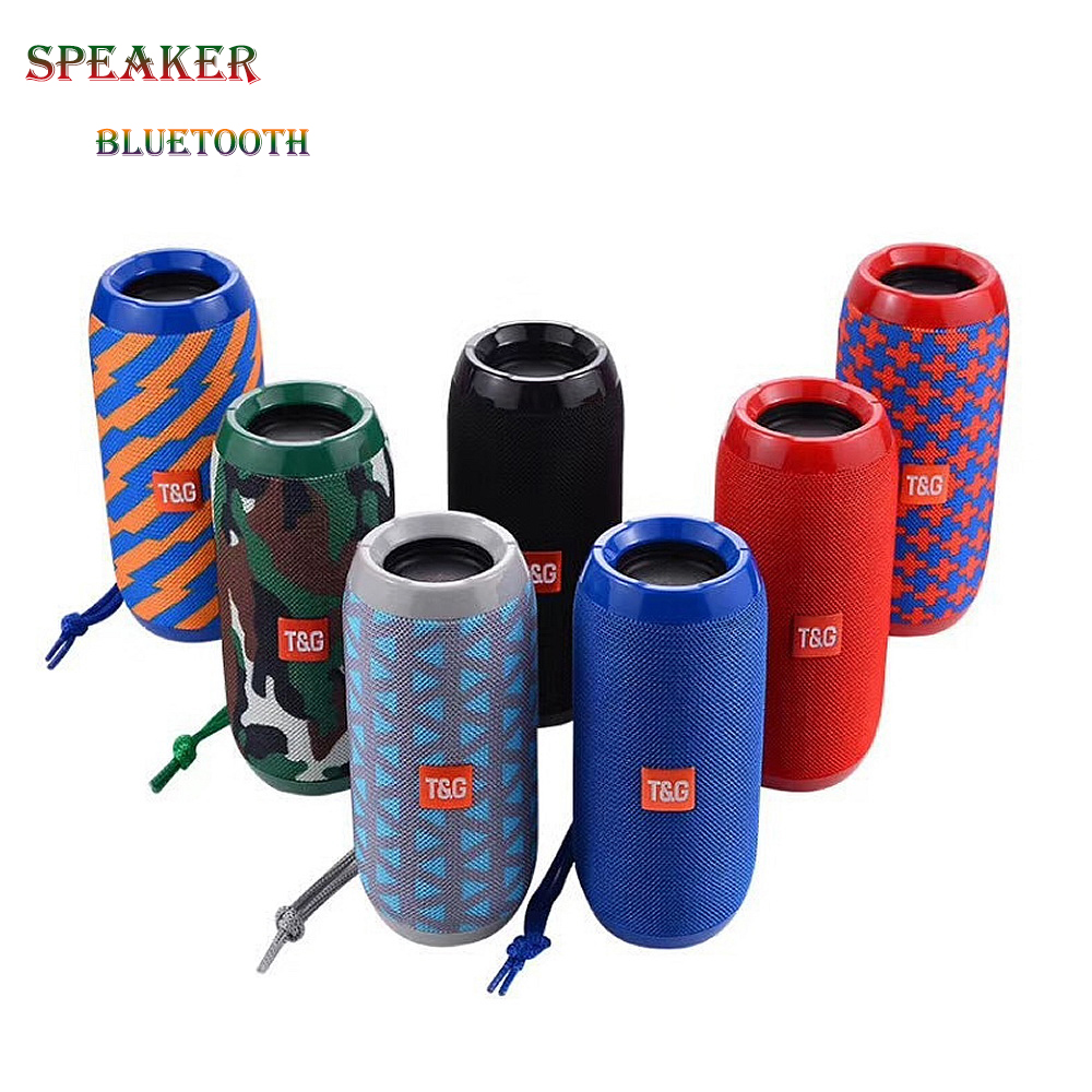 TG117 Portable <strong>Speaker</strong> Waterproof <strong>Bluetooth</strong> <strong>Speaker</strong> Outdoor Subwoofer Bass <strong>Wireless</strong> <strong>Speakers</strong> Mini Column Box Loudspeaker FM TF