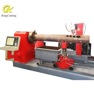 Steel Pipe Machine KCP Pipe Hole Shaving Cutting Machine