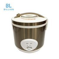 Deluxe kitchenware automatic cylinder cooking pot 2.8L electric non-stick smart rice cooker