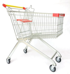 60L supermarket shopping trolly,Supermarket carts, trolley