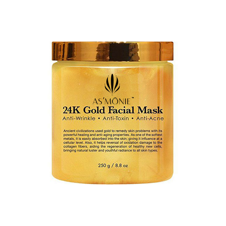 Private Label 24 k del Collageno Maschera Per il Viso
