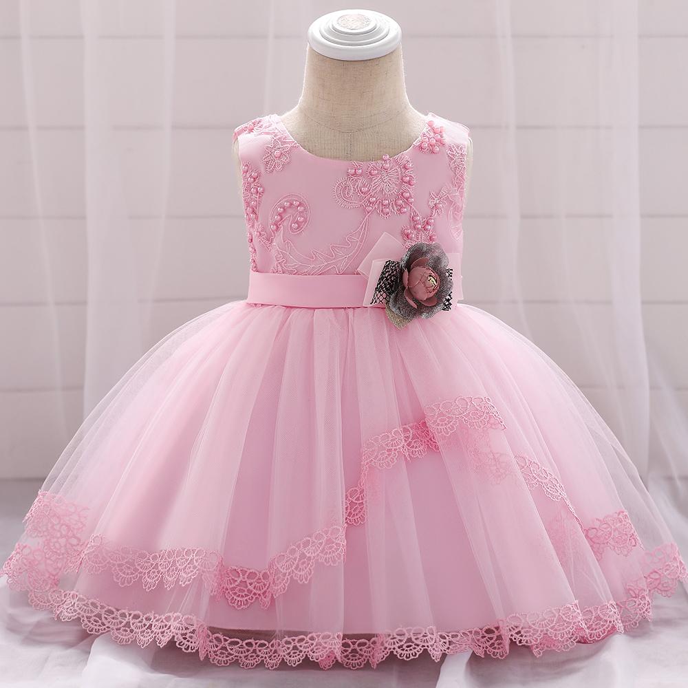 2018 летнее платье для маленьких девочек нарядное платье в черный горошек для маленьких девочек платье с цветочным принтом L1886XZ
