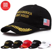 2019 best selling wholesale bulk in stock cheap price make america great again trucker cap trump hat
