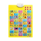 Russian letters educational wall chart for kids early educational learning