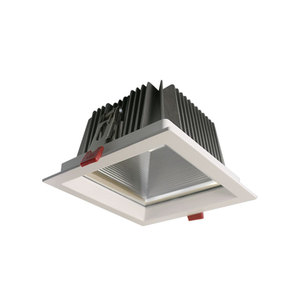 Hotel Recessed Ceiling COB 20W Rectangular LED Downlight