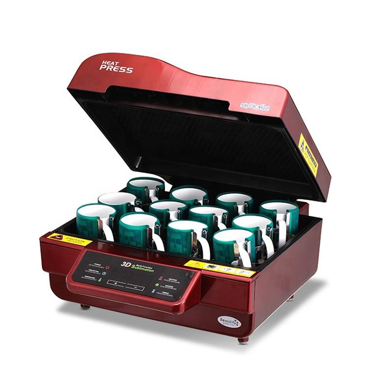 Casing Ponsel 3D Mesin Sublimasi, ST-3042, Mesin Sublimasi Tekan Panas, Casing Ponsel Mug, Kaus Vakum 3D