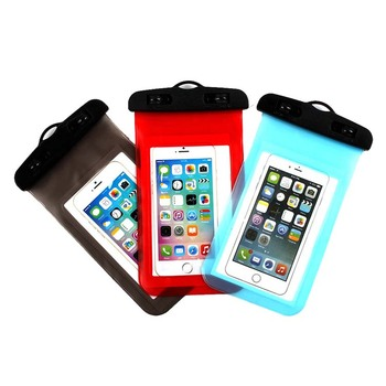 Waterproof Phone Pouch/Case Floating Waterproof Cell Phone Pouch Universal TPU Clear Water Proof Dry Beach Bag for Phone