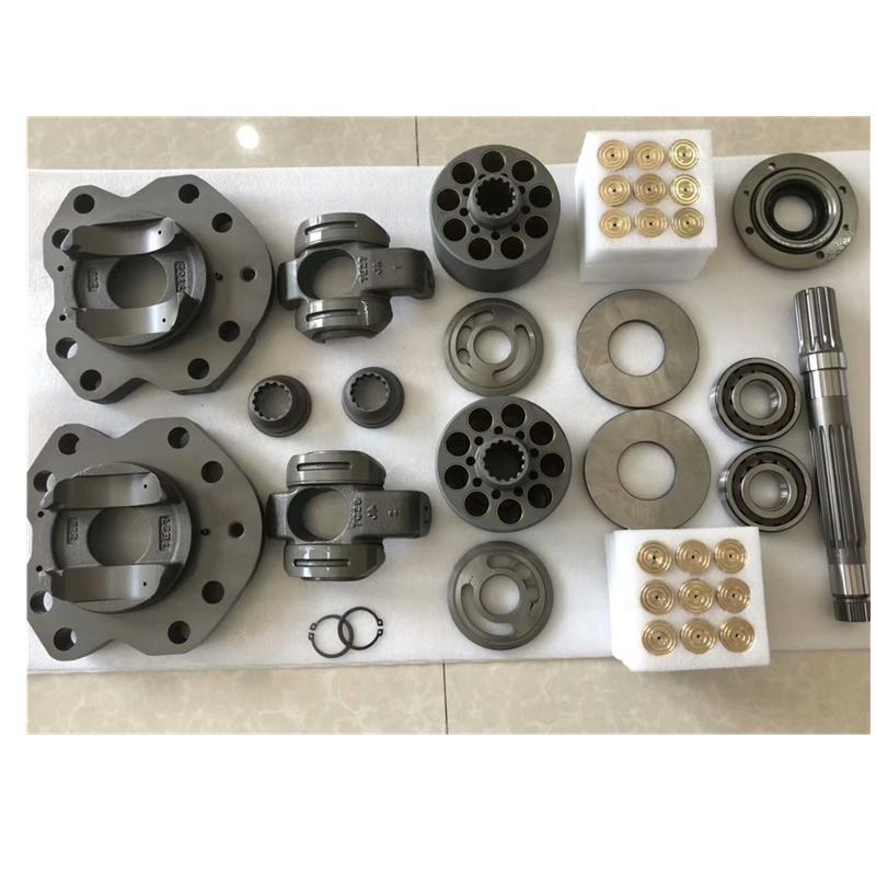 KAYABA PSVD2-21 hydraulic pump valve plate cylinder block Piston shoe Set
