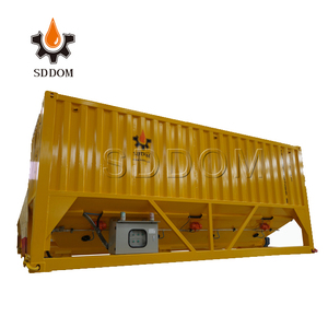 High efficiency construction machinery mobile cement silo structure