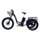 Best selling 350W 500W 750W three wheel fat tire Bicycle adults electric tricycle