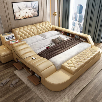 Modern Bed With Storage Mage