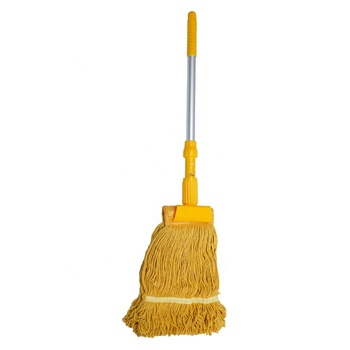 Newest Household Cleaning Products Durable Cotton Kentucky Wet Mop With Steel Handle