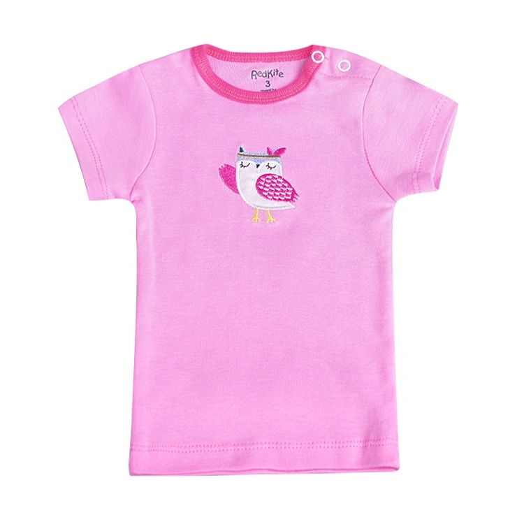 Best Quality Hot Selling Comfortable 100% Cotton Newborn Baby T Shirt Clothes