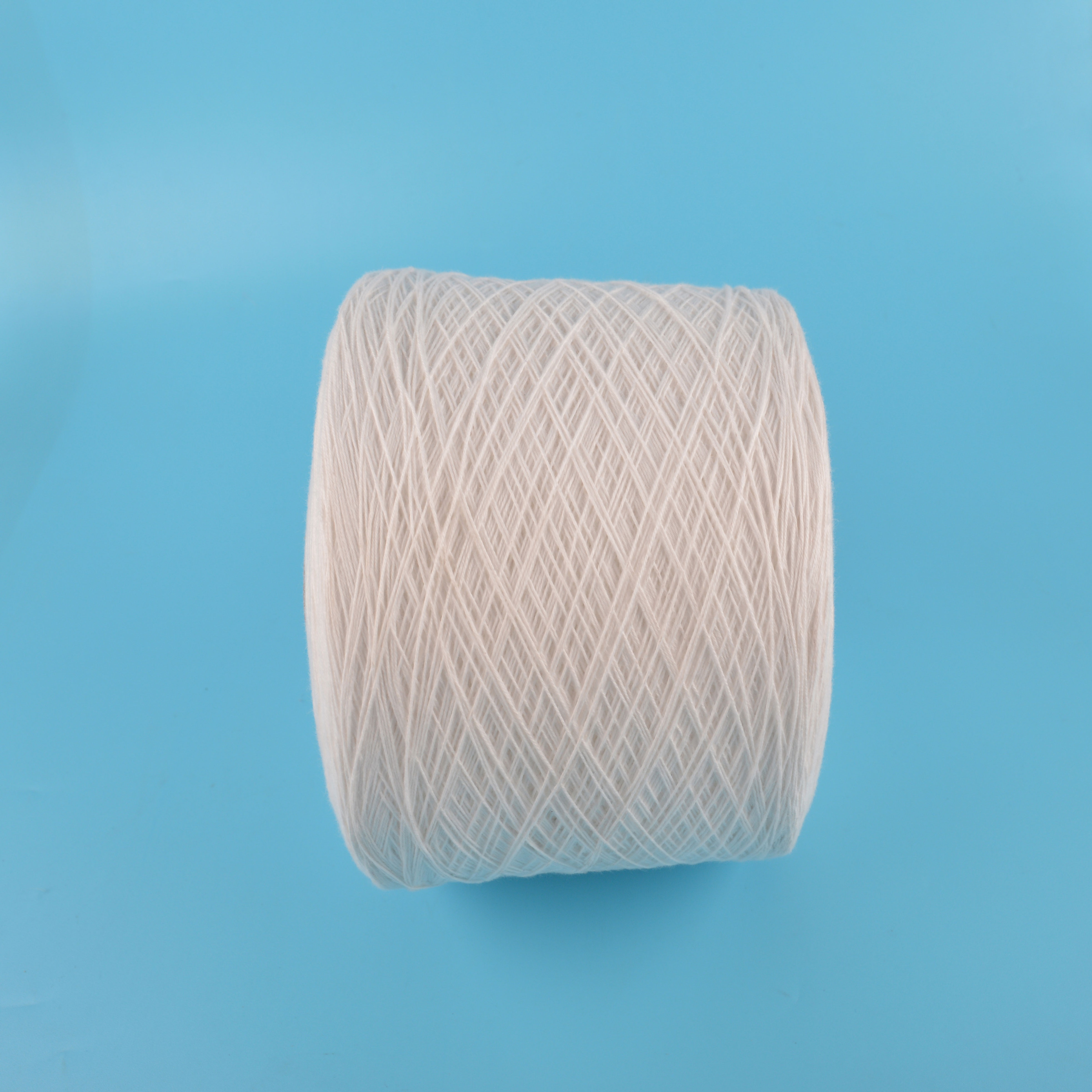20s 4 ply white orginal polyester rice bag swing thread with silicone oil for sack closing