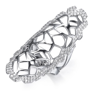SR00189 jewelry wholesale dropship full finger ring accessories for women