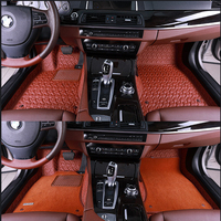 PVC leather washable waterproof car seat cover.PU Leather car seat cushion/car floor mats for BMW