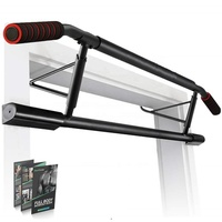 Wellshow Sport Punch Free Doorway Chin Up Bar Chinning Pull Up Bar