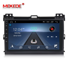"MEKEDE 9 ""android 8.1 quad core <span class=keywords><strong>auto</strong></span> dvd player für Toyo-ta Prado 120 mit 1 + 16 GB BT SWC OBD WIFI GPS navigation radio audio"