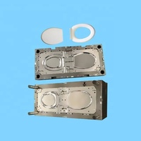 Toilet Seat mold maker High Quality Hot Sale Custom Injection molding T Professional OEM/ODM pvc plasticinjection mold