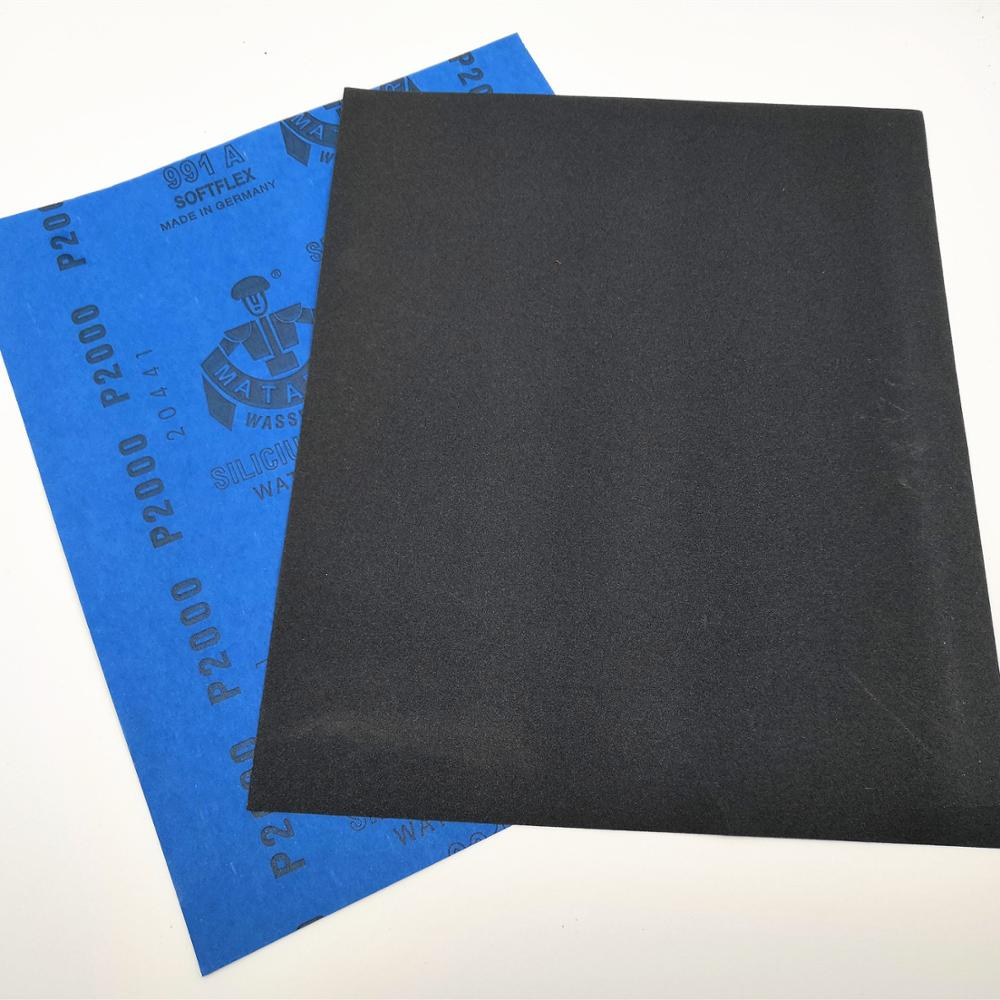 MATADOR Silicon Carbide Abrasive Sand Paper Abrasive Waterproof SandPaper Sanding Paper For Polishing
