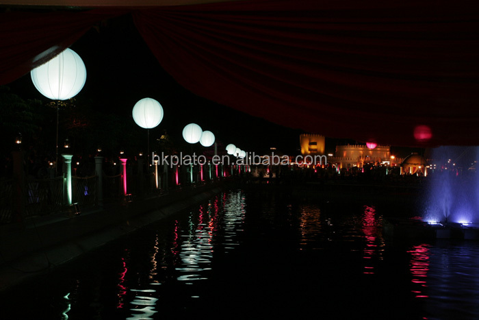 Charming Inflatable Led Balloon With Stand,Crystal Light,Led ...